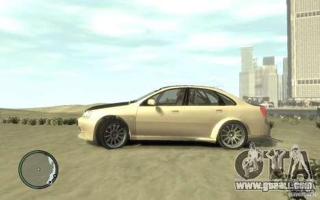 Chevrolet Lacetti Street Tune for GTA 4 left view