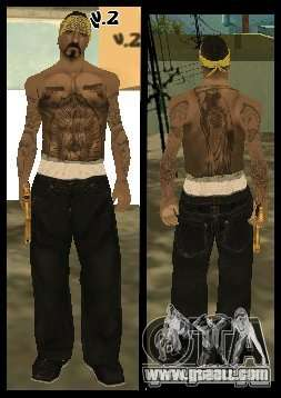 Vagos Gang Skins for GTA San Andreas tenth screenshot