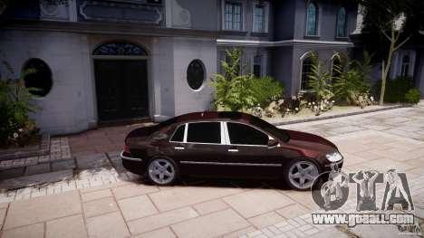 Volkswagen Phaeton W12 Long for GTA 4 left view