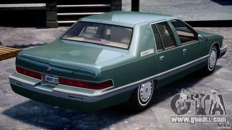 Buick Roadmaster Sedan 1996 v1.0 for GTA 4 engine