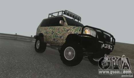 Toyota Land Cruiser 100 Off Road for GTA San Andreas left view