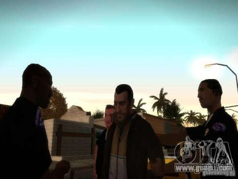 Niko Bellis New Stories for GTA San Andreas third screenshot
