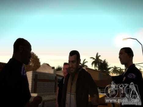 Niko Bellis New Stories for GTA San Andreas third screenshot