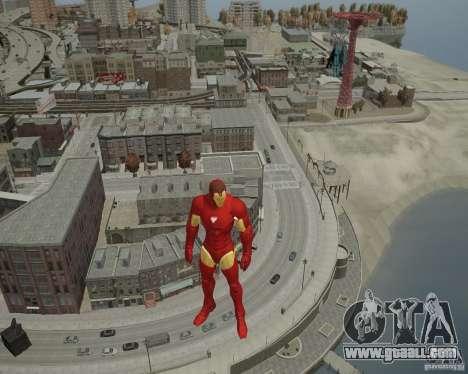 Iron Man Mk3 Suit for GTA 4 seventh screenshot
