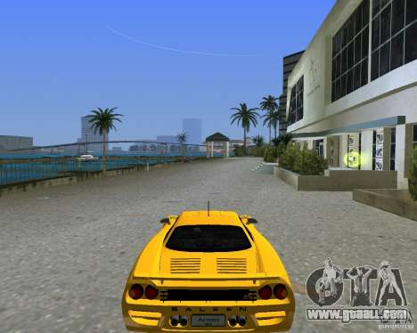 Saleen S7 for GTA Vice City back left view