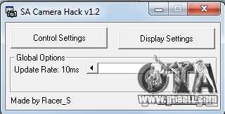 CamHack v1.2 for GTA San Andreas forth screenshot