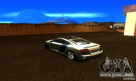 Audi R8 V12 TDI for GTA San Andreas left view
