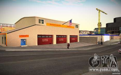 HD Fire Department for GTA San Andreas