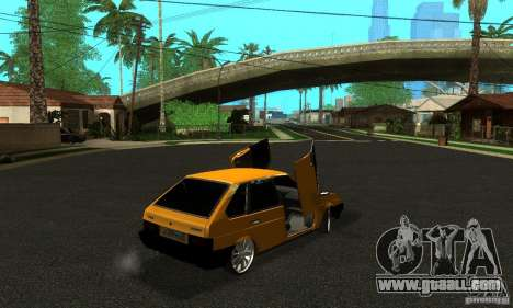 VAZ 2109 Light Tuning for GTA San Andreas left view