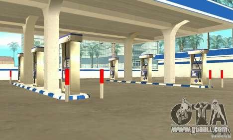TNK Filling Station for GTA San Andreas second screenshot
