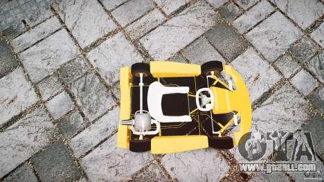 Karting for GTA 4 side view