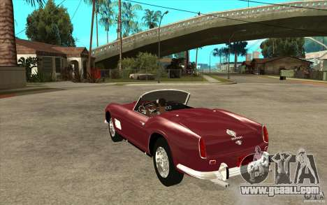 Ferrari 250 California 1957 for GTA San Andreas back left view