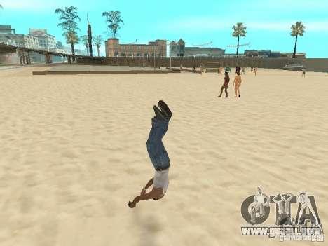 Parkour 40 mod for GTA San Andreas sixth screenshot