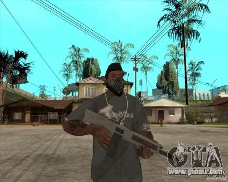 Atchisson assault shotgun (AA-12) for GTA San Andreas