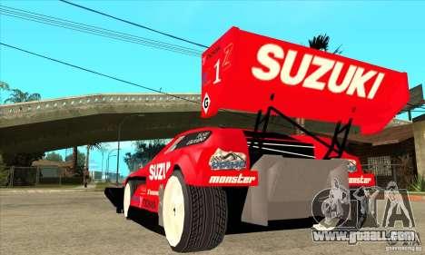 Suzuki Escudo Pikes Peak V2.0 for GTA San Andreas back left view