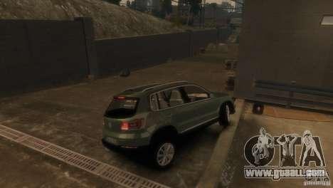 Volkswagen Tiguan for GTA 4 back left view