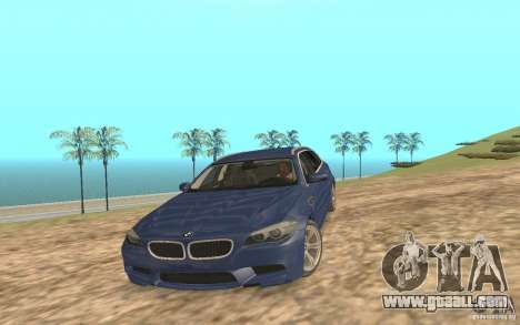BMW M5 F11 Touring for GTA San Andreas engine