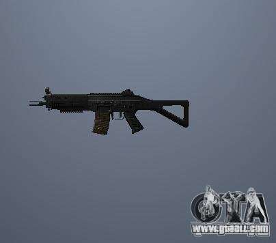 Pak high polygonal weapons for GTA San Andreas second screenshot