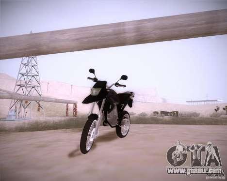 Honda XRE 300 for GTA San Andreas
