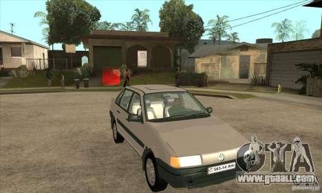 Volkswagen Passat B3 for GTA San Andreas back view