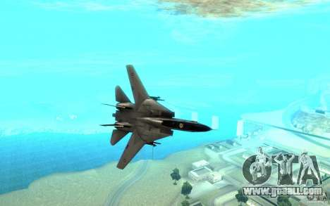 F-14A Screaming Eagles VF-51 for GTA San Andreas back view