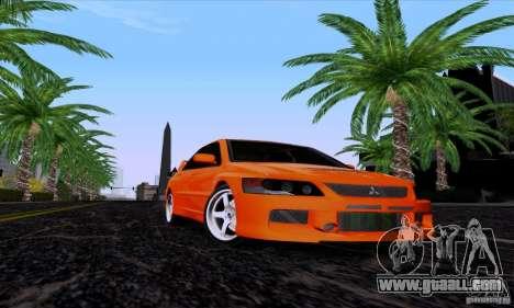 Mitsubishi Lancer Evolution IX 2006 for GTA San Andreas