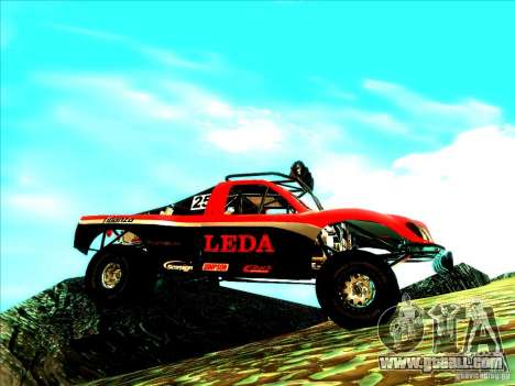 Toyota Tundra Rally for GTA San Andreas side view