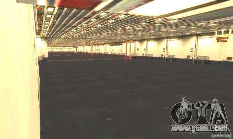 CVN-68 Nimitz for GTA San Andreas fifth screenshot