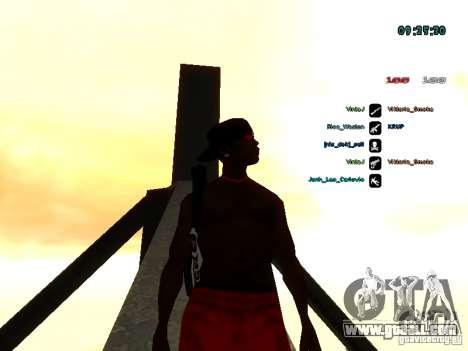 Knapsack-parachute for GTA: SA for GTA San Andreas forth screenshot