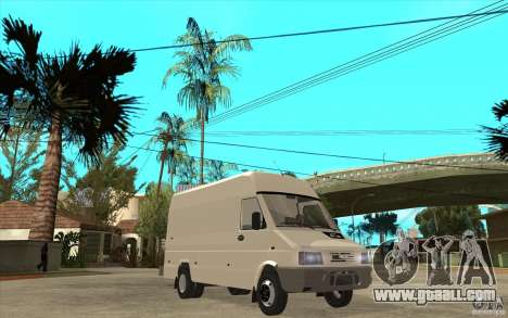 Iveco Turbo Daily for GTA San Andreas back view