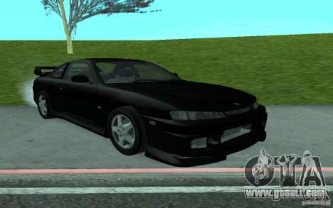 Nissan 200SX for GTA San Andreas right view