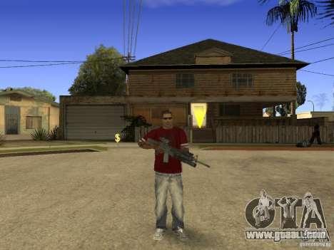 M4 Arma for GTA San Andreas third screenshot