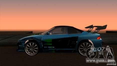 Toyota MR2 Drift for GTA San Andreas left view