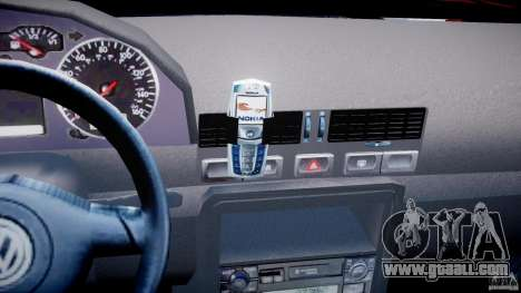 Volkswagen Bora for GTA 4 bottom view