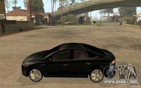 Ford Mondeo 2009 for GTA San Andreas left view