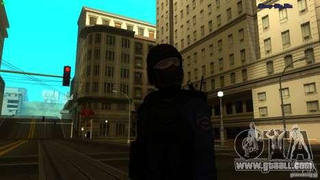 SWAT Officer for GTA San Andreas second screenshot