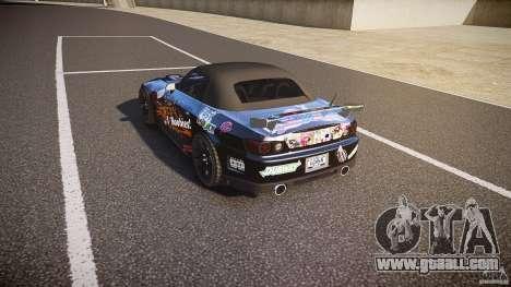 Honda S2000 Tuning 2002 Skin 1 for GTA 4 back left view