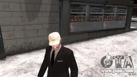 Gucci cap for GTA 4