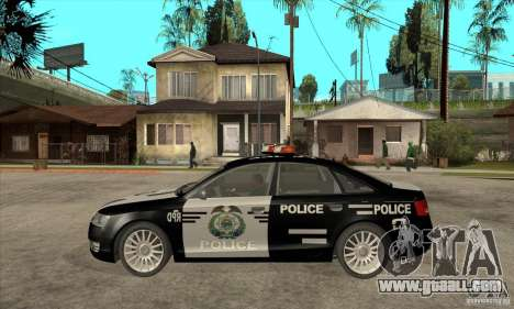 Audi A6 Police for GTA San Andreas