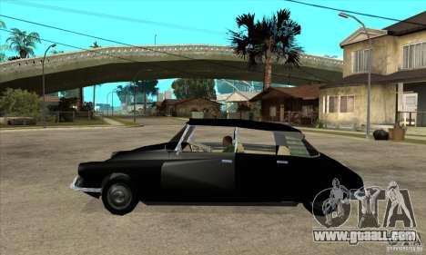 Citroen ID 19 for GTA San Andreas left view