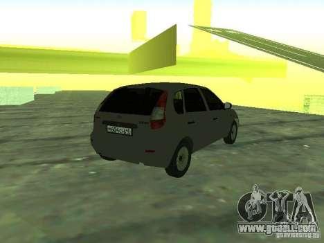 LADA 1119 Hatchback Kalina for GTA San Andreas left view