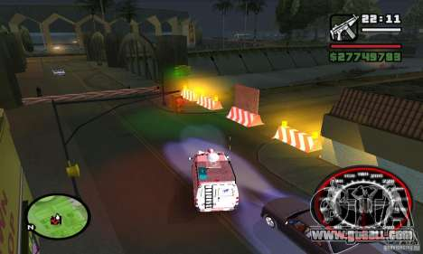 GROOVE STREET BASE for GTA San Andreas forth screenshot