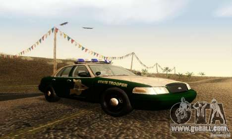 Ford Crown Victoria New Hampshire Police for GTA San Andreas