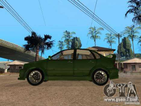 Lada Kalina Sport Tuning for GTA San Andreas left view