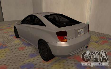 Toyota Celica 2JZ-GTE for GTA San Andreas right view