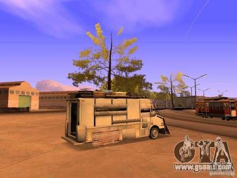 Monster Van for GTA San Andreas left view