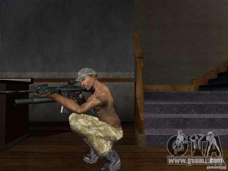 Hats of Call of Duty 4: Modern Warfare for GTA San Andreas forth screenshot