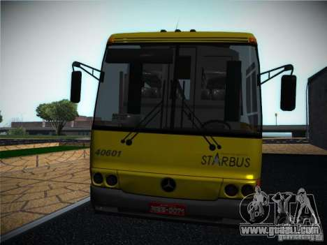 Mercedes Benz O400 Monobloco for GTA San Andreas back left view