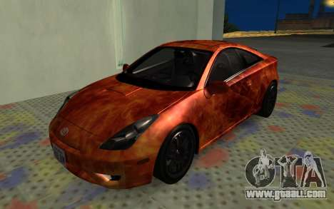 Toyota Celica 2JZ-GTE for GTA San Andreas side view
