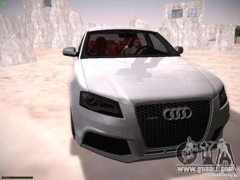 Audi RS3 2011 for GTA San Andreas